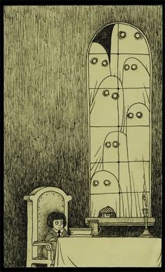 1fc0365b57b4309b042a753749ecb66e--post-it-art-halloween-illustration