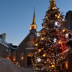 Oldest church in Quebec